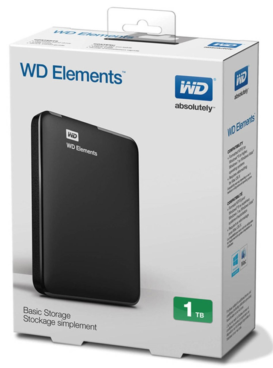 wd elements external hard drive user manual