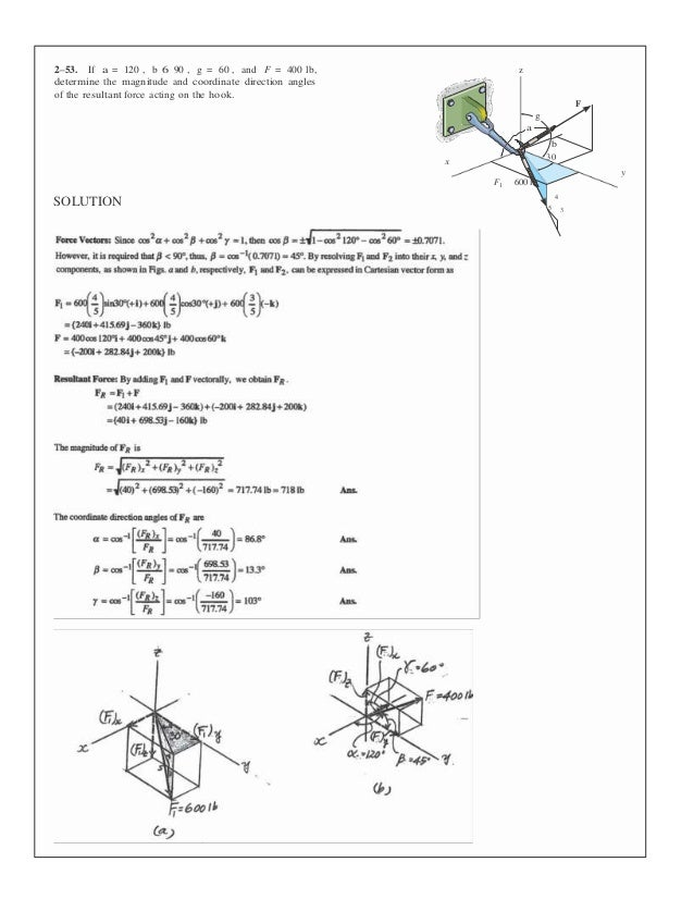 statics and mechanics of materials si edition solution manual