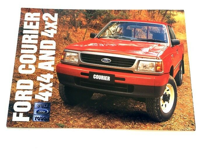 1997 ford courier workshop manual