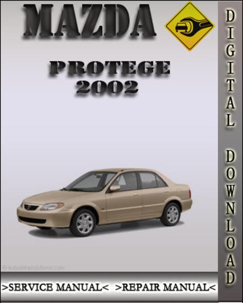 2002 mazda bravo workshop manual