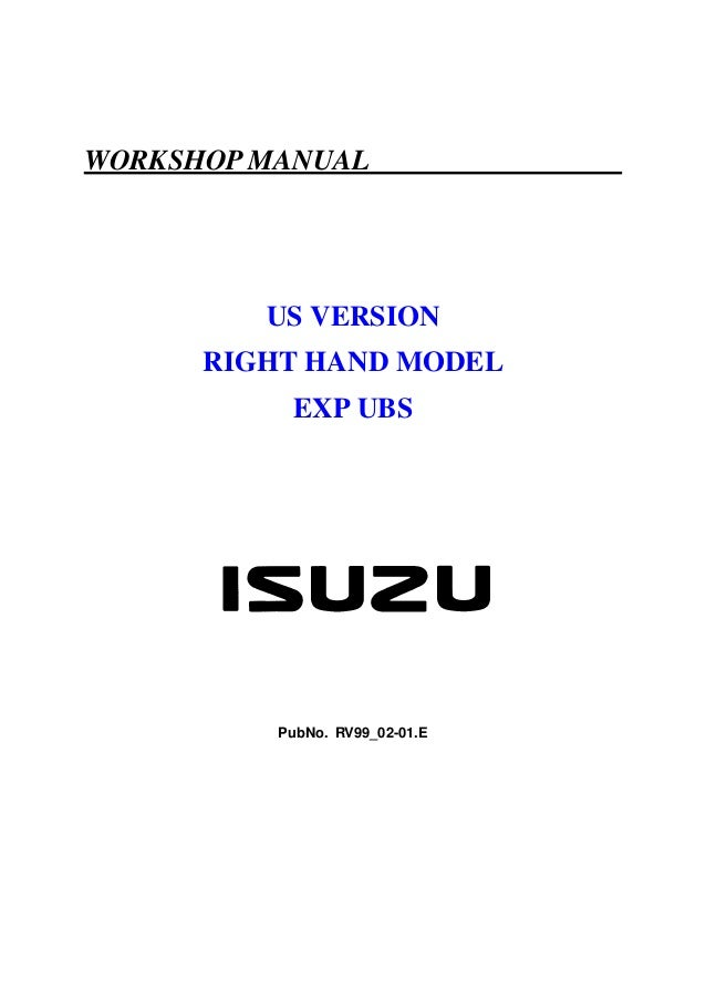 2009 isuzu npr service manual