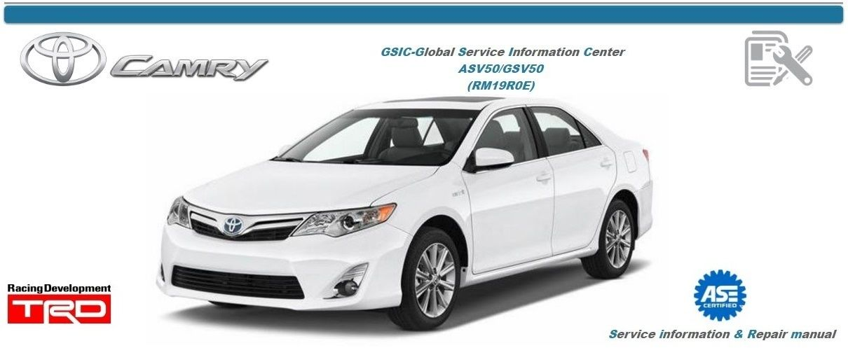 2013 toyota camry maintenance manual