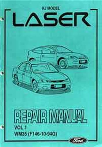 1996 ford laser workshop manual pdf