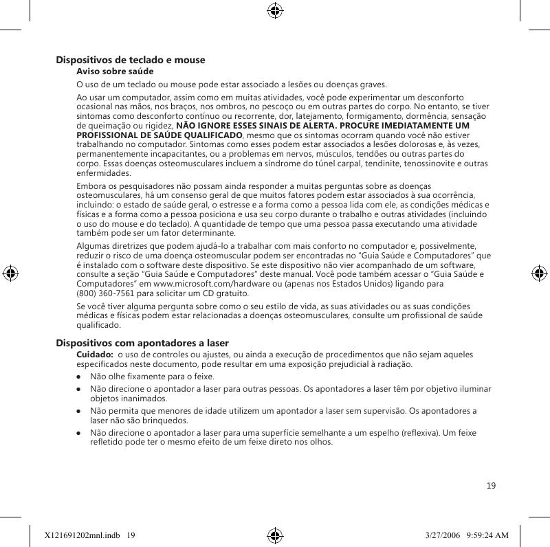microsoft wireless mouse 3000 manual