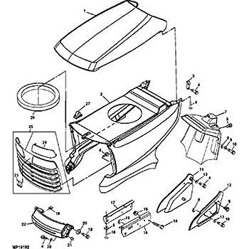 john deere lt160 parts manual