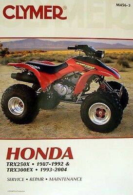 honda trx 300 service manual