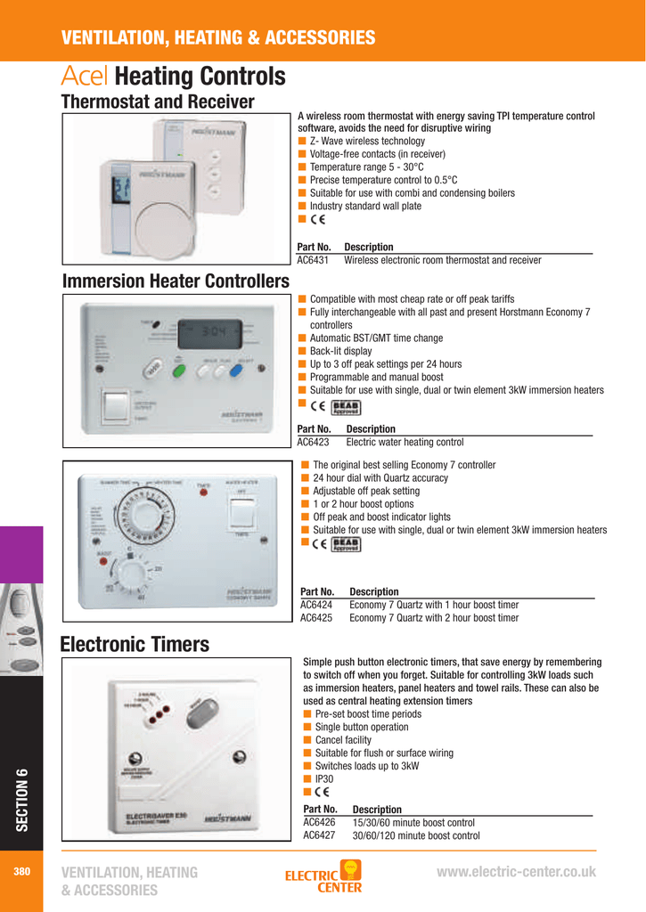 horstmann economy 7 quartz manual