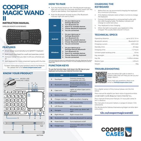 magic wand ii user manual