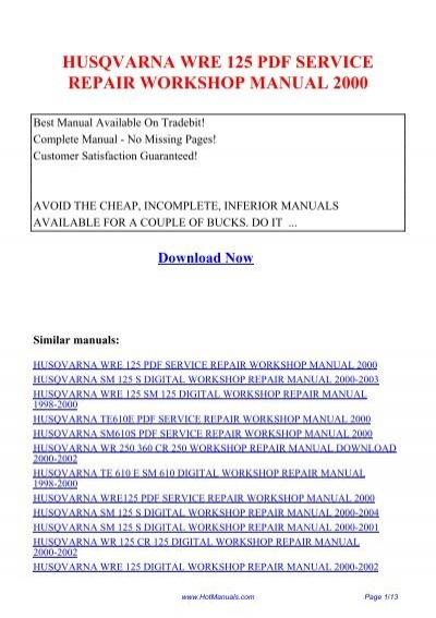 husqvarna 450 chainsaw manual pdf