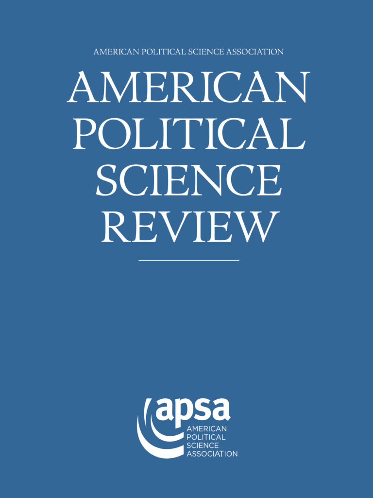 style manual for political science