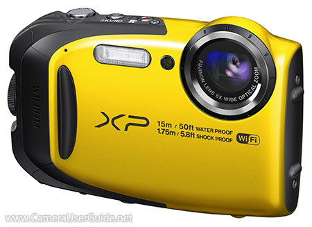fujifilm xp80 waterproof camera manual