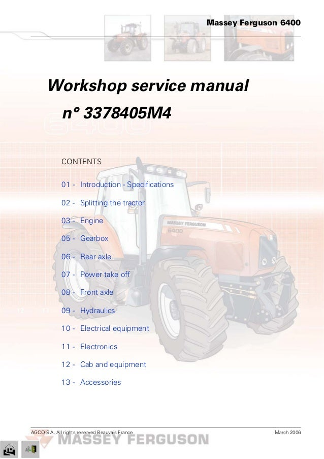 carraro front axle service manual
