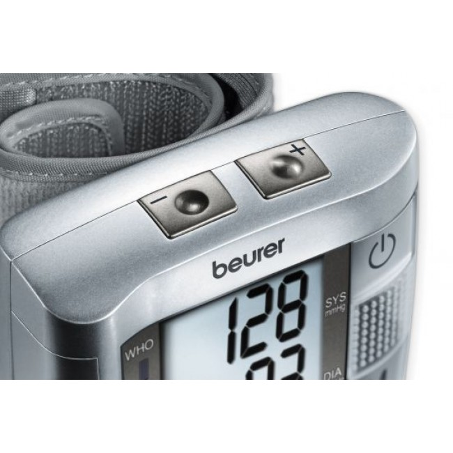 beurer blood pressure monitor manual