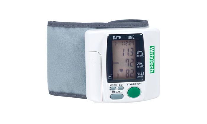 wristech blood pressure monitor manual