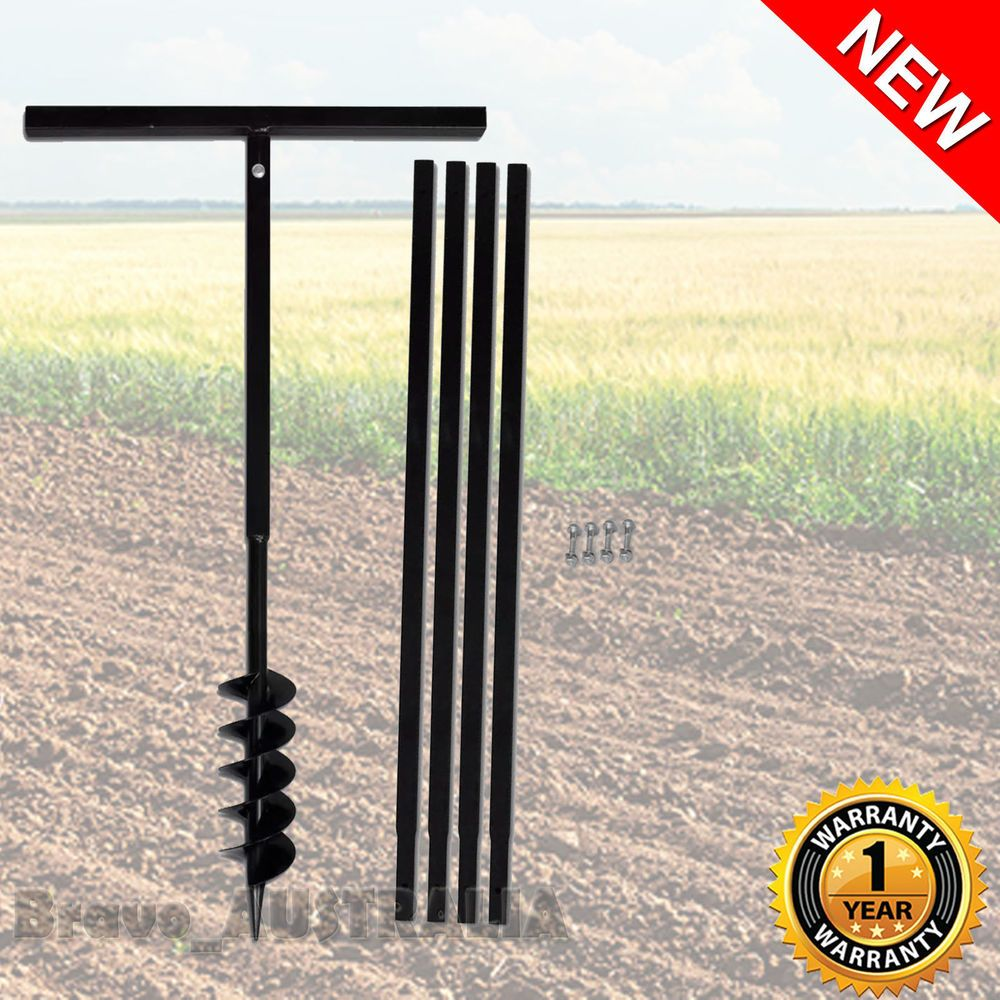 manual auger post hole digger
