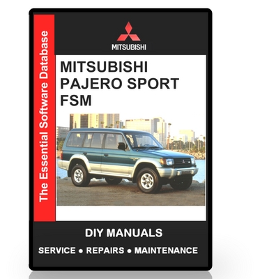 mitsubishi challenger workshop manual free download