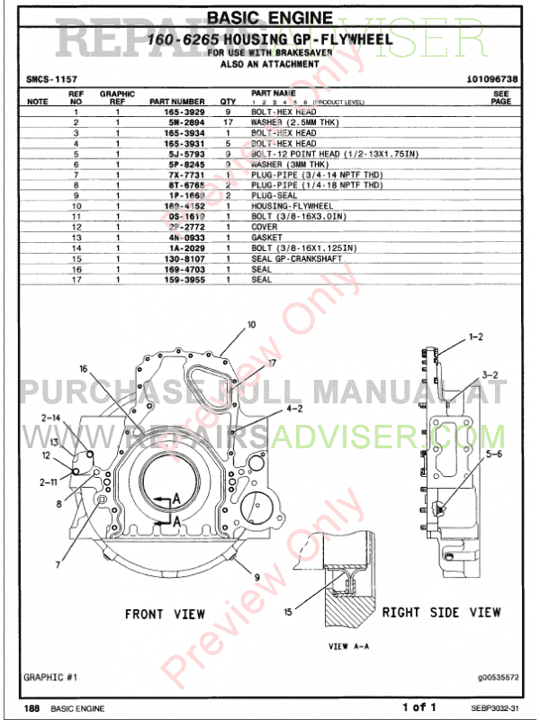 cat c15 engine parts manual
