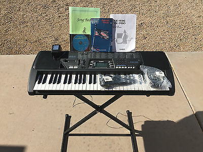 61 key electronic keyboard manual