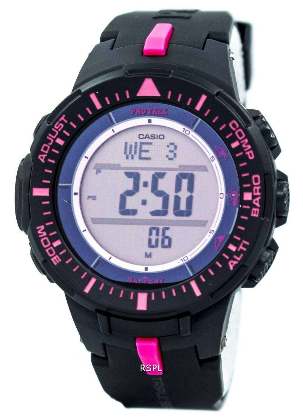 casio protrek prg 300 manual