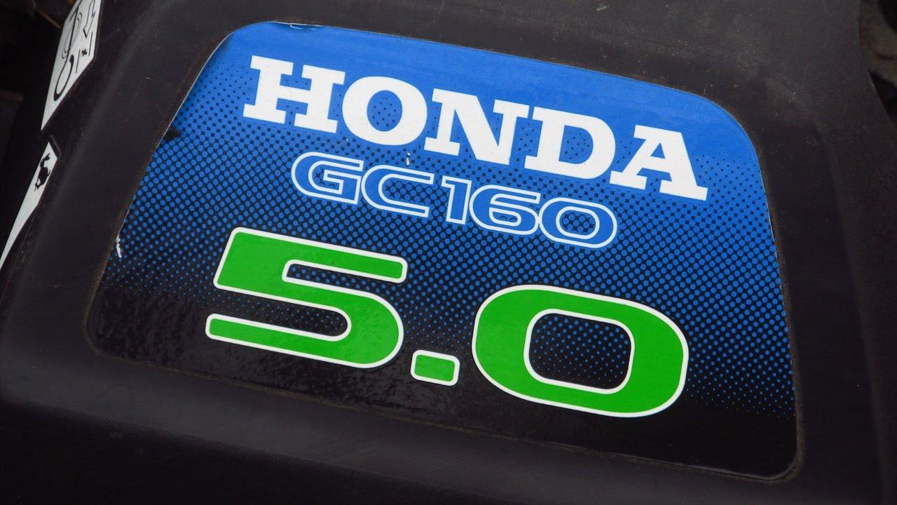 honda gc 160 engine manual