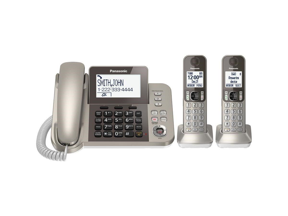panasonic 2 line cordless phone manual