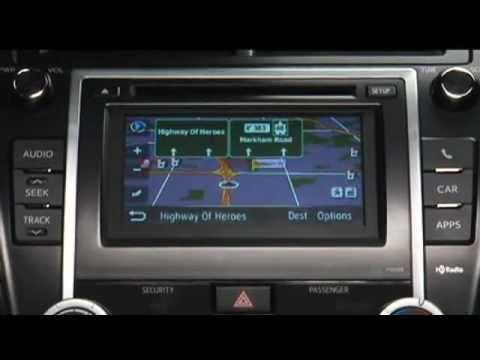 2012 toyota camry navigation system manual