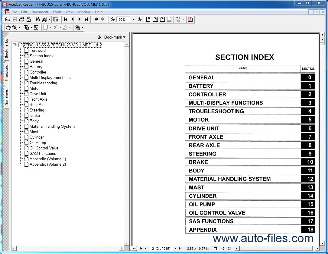 automotive service manuals free download