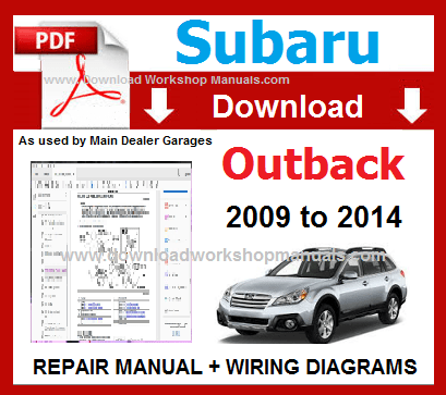 2004 subaru outback service manual