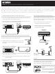 yamaha ywa 10 user manual