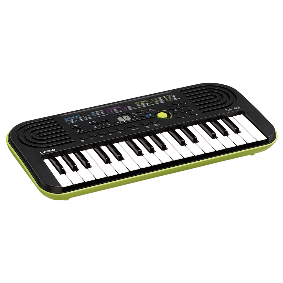 casio sa 46 mini keys keyboard manual