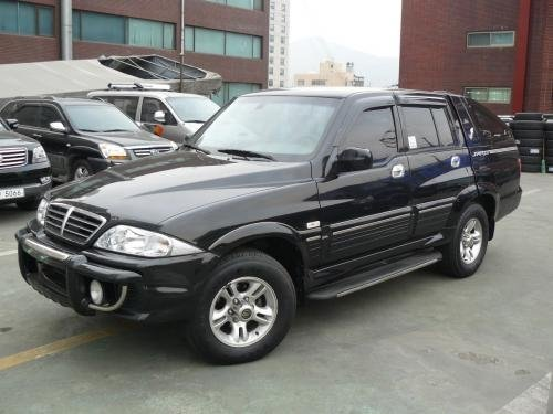 ssangyong musso sports service manual