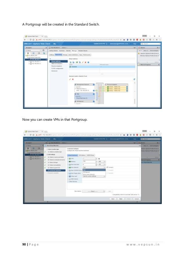 vmware vsphere 6 lab manual