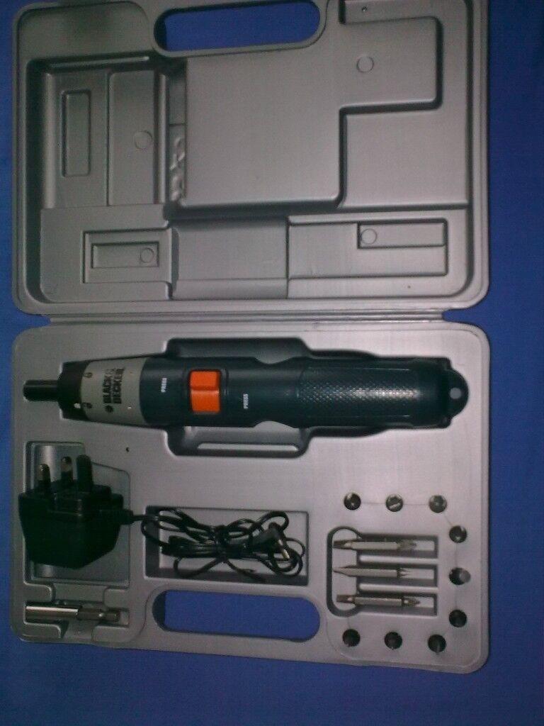 black and decker cordless drill manual
