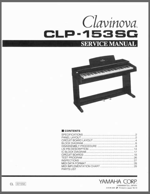 yamaha clavinova clp 920 manual