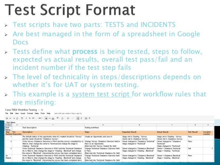 how to write test cases in manual testing with example