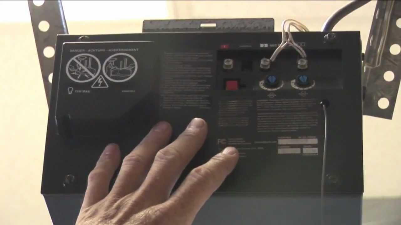 b&d controll a door r manual
