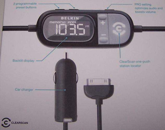 belkin ipod fm transmitter manual