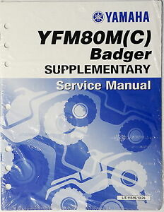 yamaha badger 80 service manual