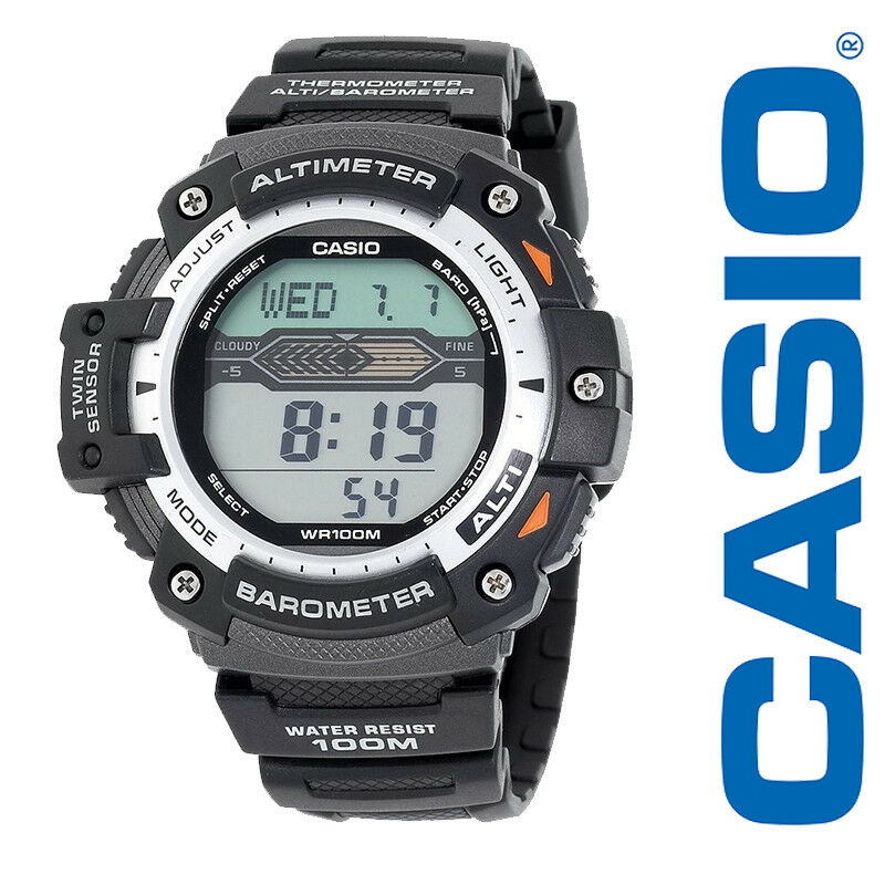 casio altimeter barometer and thermometer watch manual