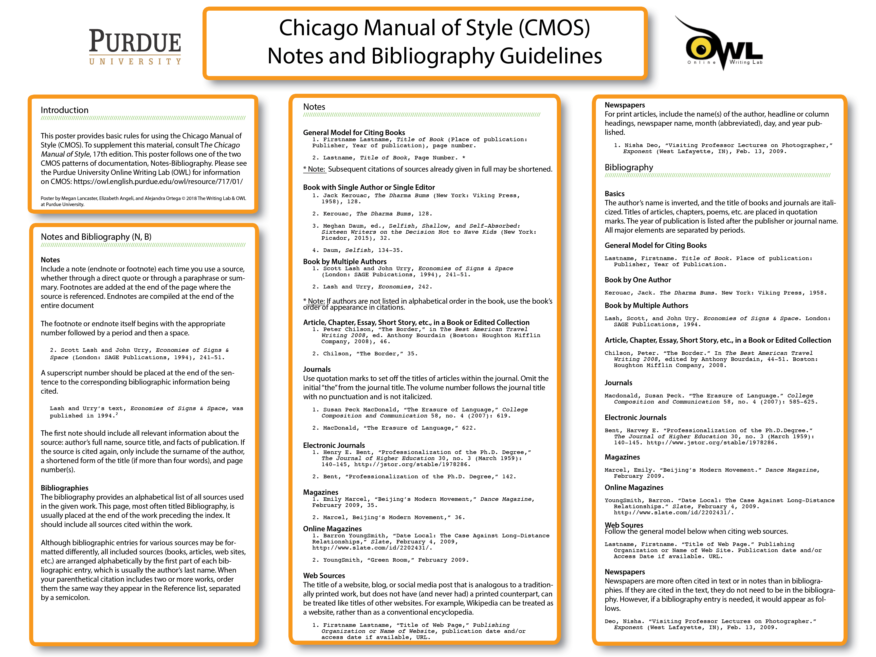 chicago manual of style citation example