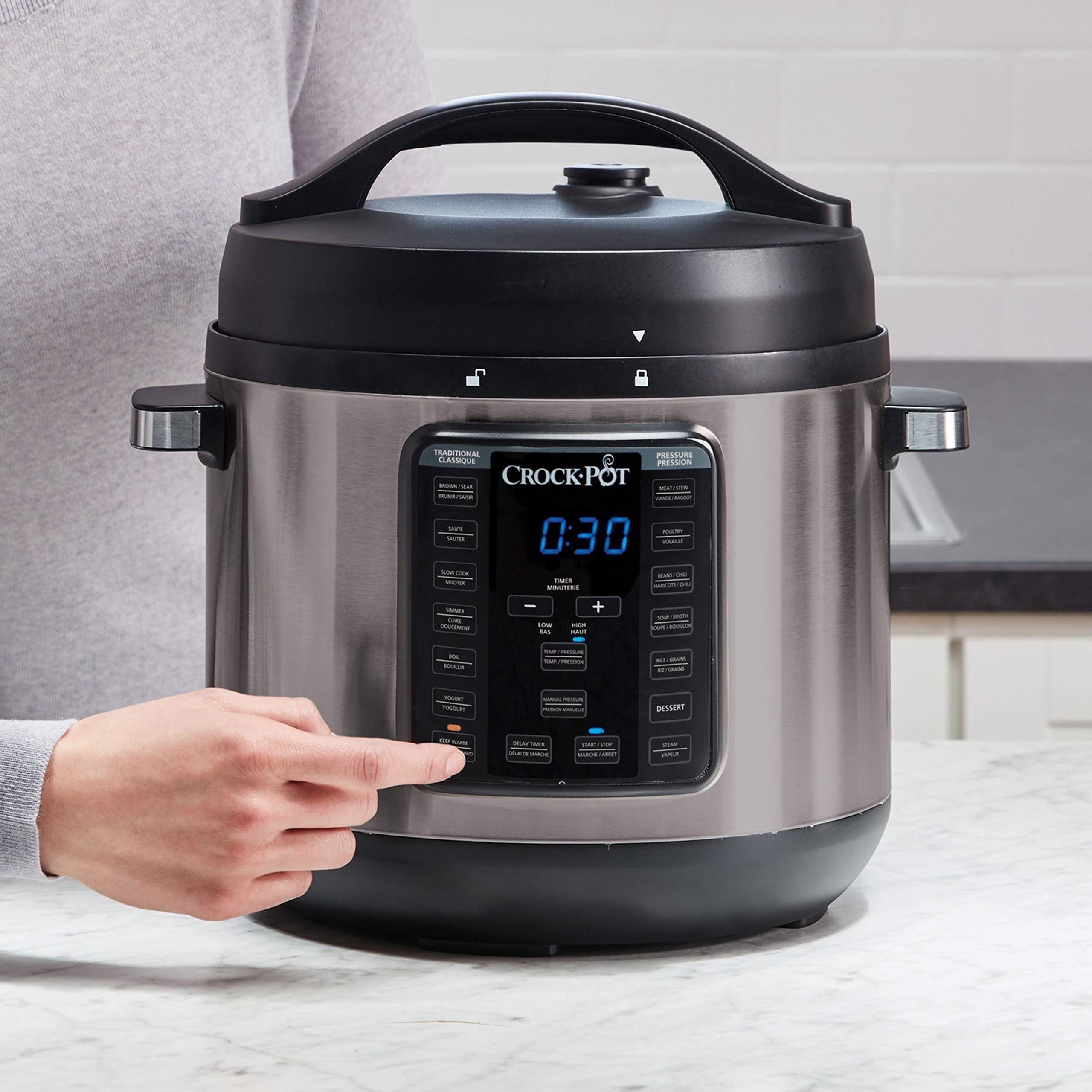 crock pot multi cooker manual