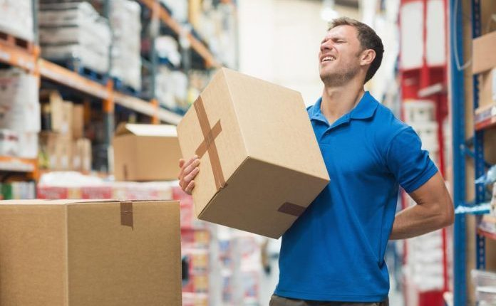 injuries caused by incorrect manual handling