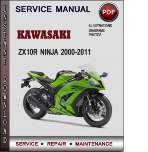2005 kawasaki zx10r service manual pdf