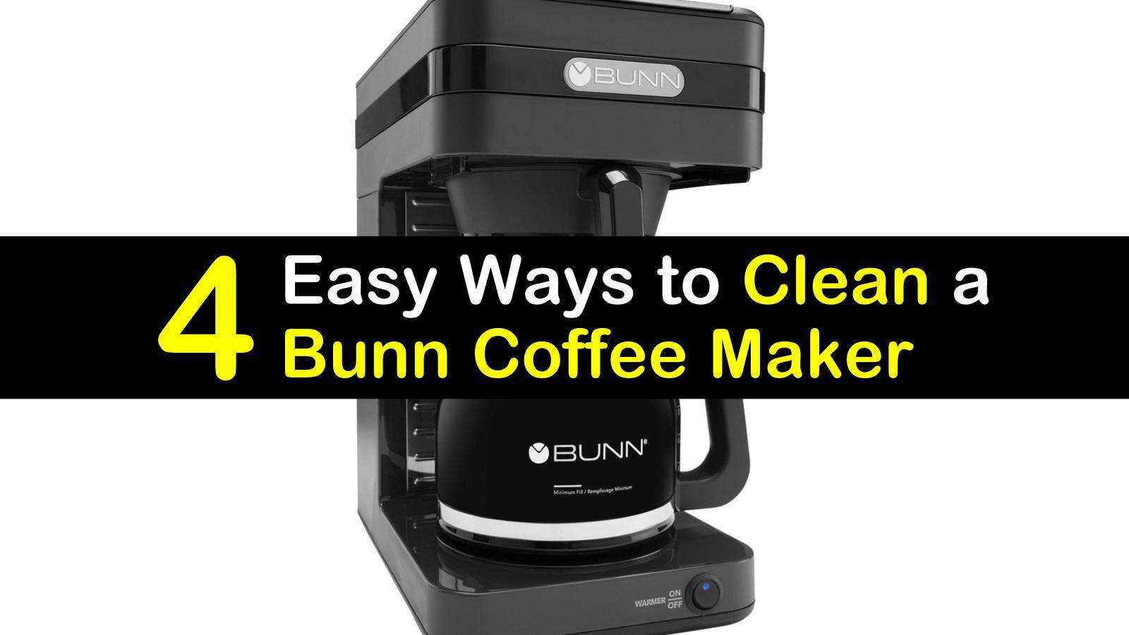 bunn commercial coffee maker manual