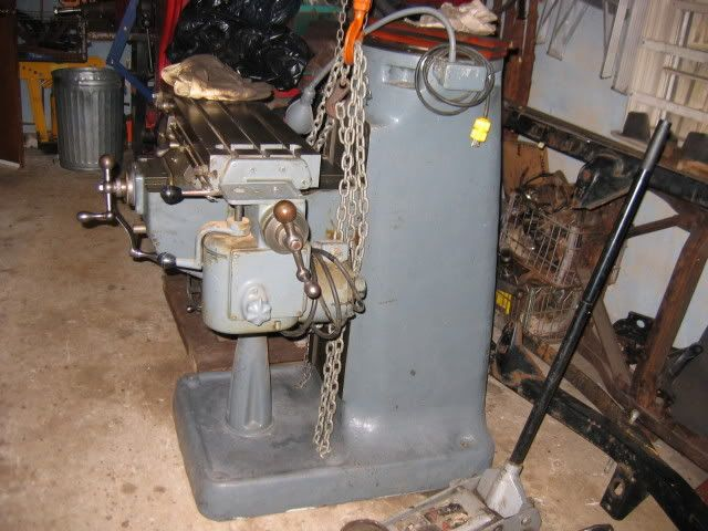 bridgeport 8f power feed manual