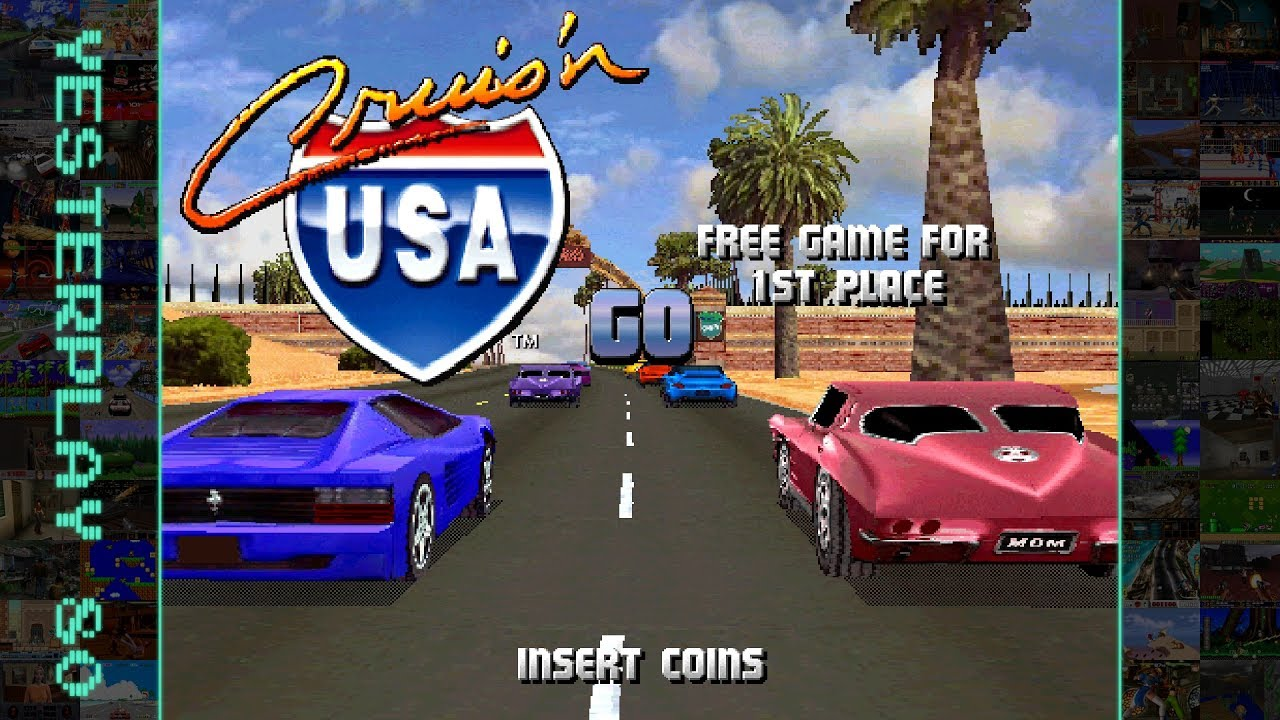 cruis n usa arcade manual