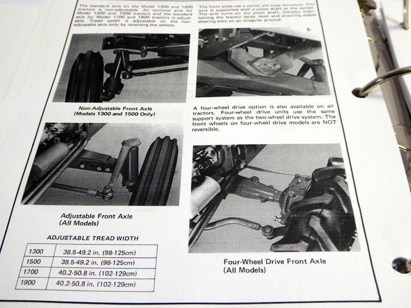 ford 1700 tractor service manual