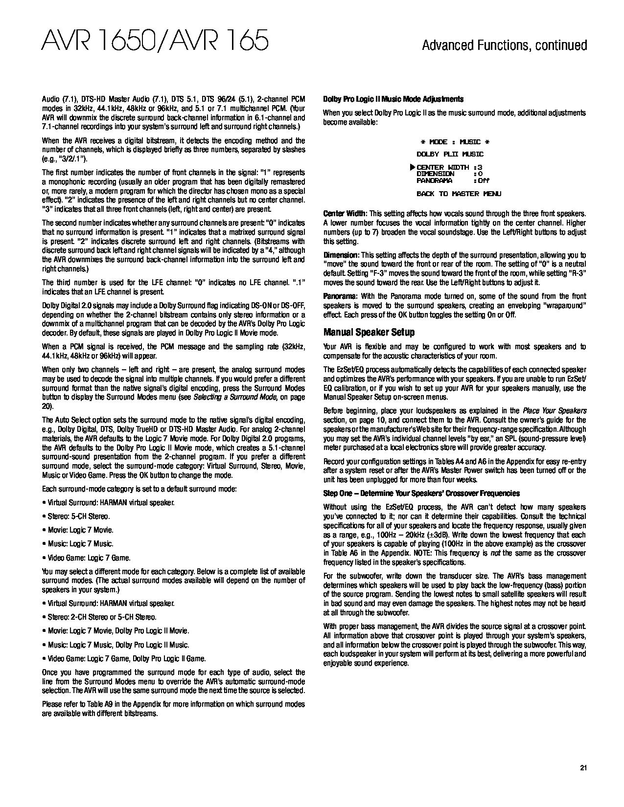 harman kardon avr 151s manual