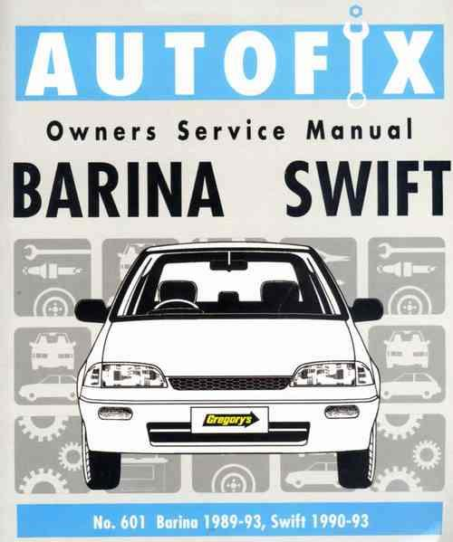 holden barina 2002 owners manual
