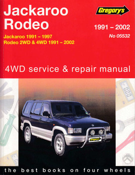 holden rodeo tf workshop manual download